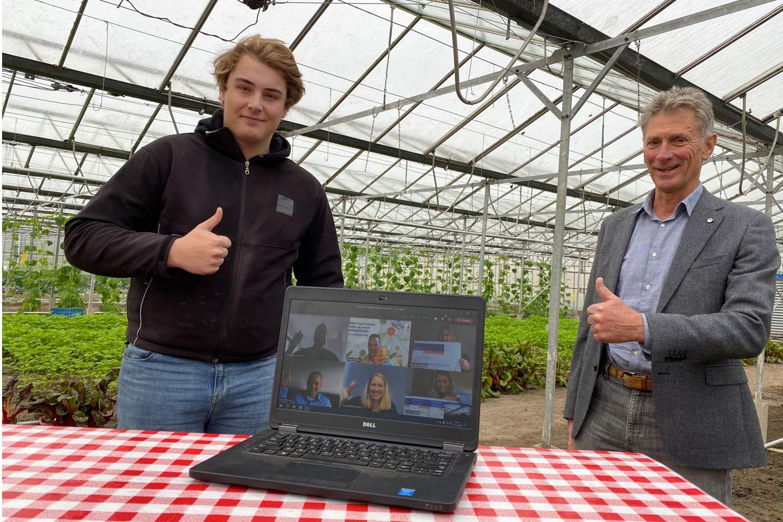 BoereGoed verblijd met donatie vanuit de Rabobank